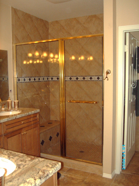 Shower Door And Glass Replacement And Installation Nelson Glass - Bathroom shower glass replacement